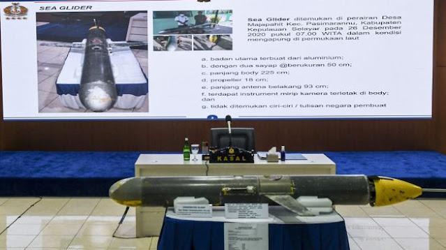 Drone Laut Diduga Milik China Menyerbu Indonesia, Ini yang Dicari