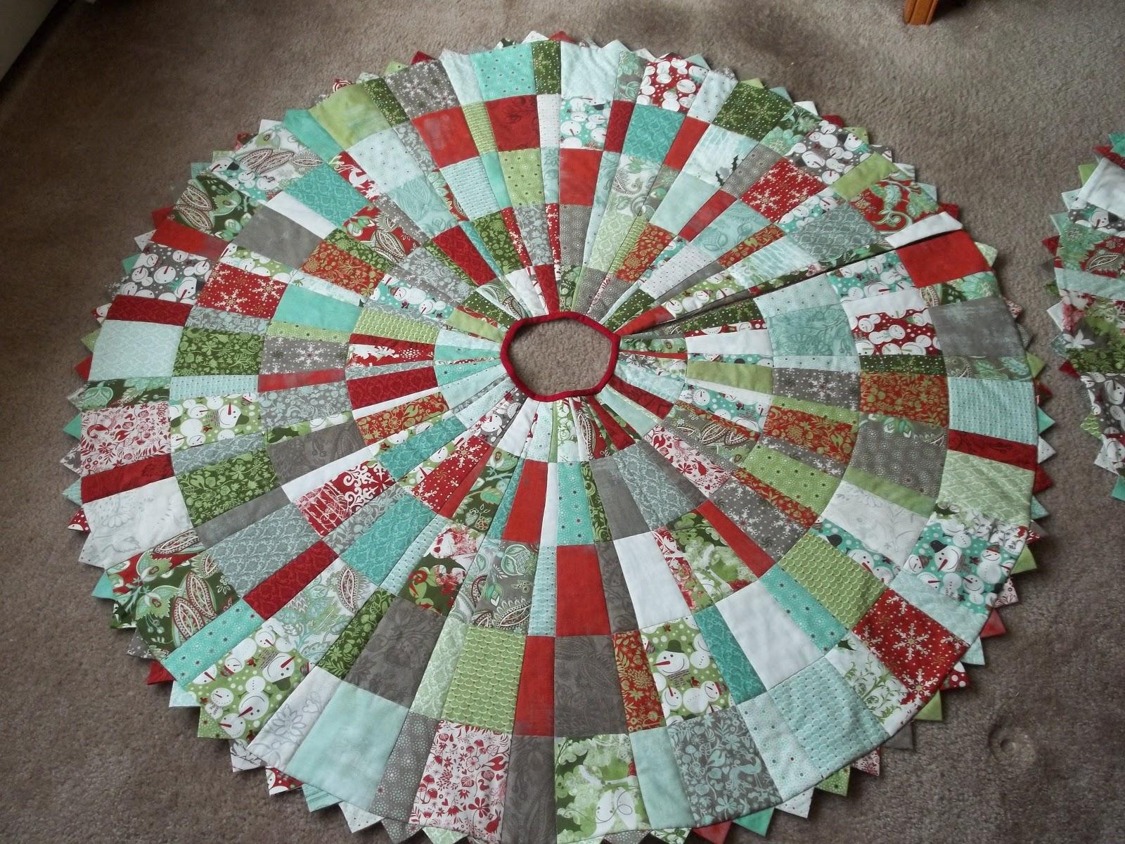 10 Skirt Tree Pattern Ruler Degree Wedge