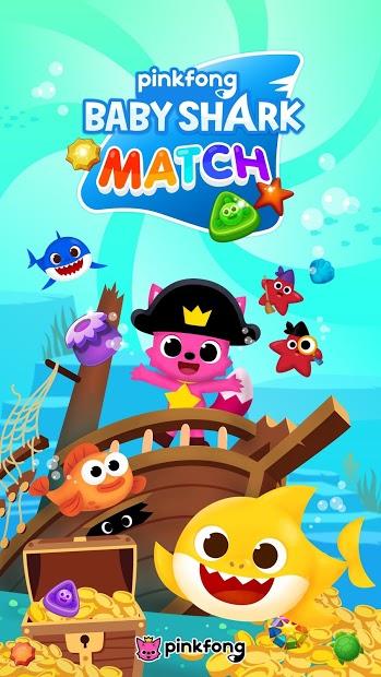 Baby Shark Match: Ocean Jam Hileli APK  v3.0.3
