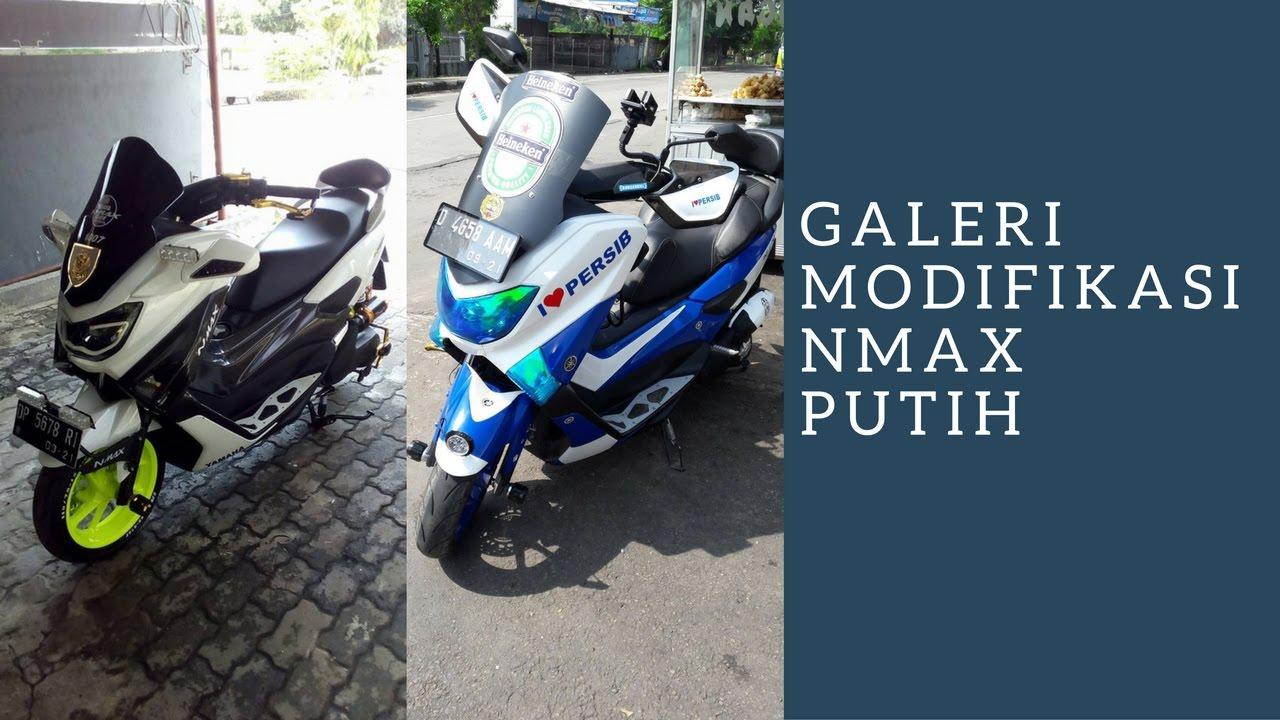 modifikasi motor yamaha nmax foto gambar59  terbaru