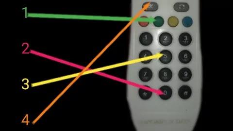 Videocon D2H Logo Stuck Problem