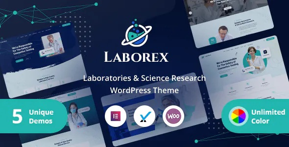 Best Laboratory & Research WordPress Theme