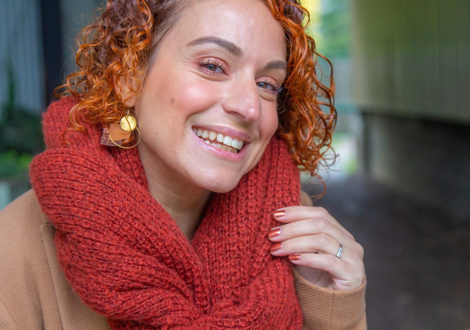 Un pull à la couleur de l'automne