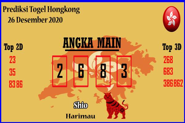 Bocoran Hongkong 26 Desember 2020