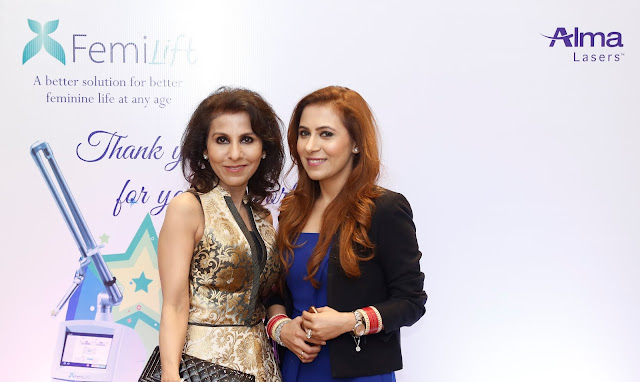 Dr Geetika Kukreja and Heena Kukreja.