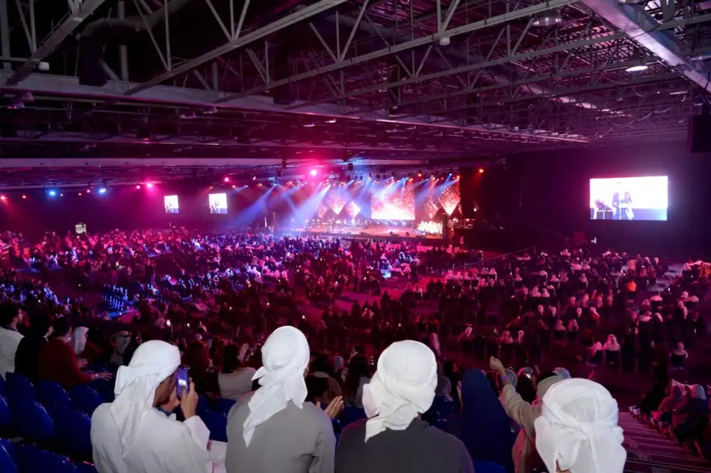 Najwa Karam and Majid Al Mohandes inflame the Dubai Shopping Festival