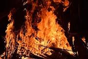 Nádas égett Kisújszálláson a Csorbai út közelében