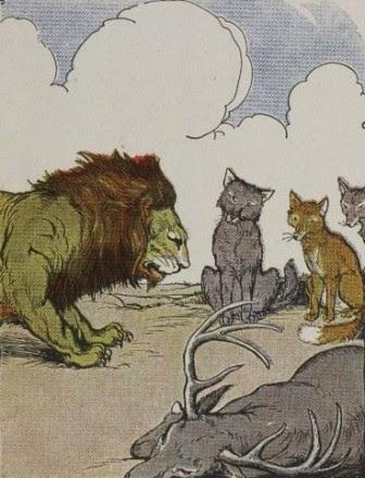 ilustrasi dibuat oleh Milo Winter (1886-1956).