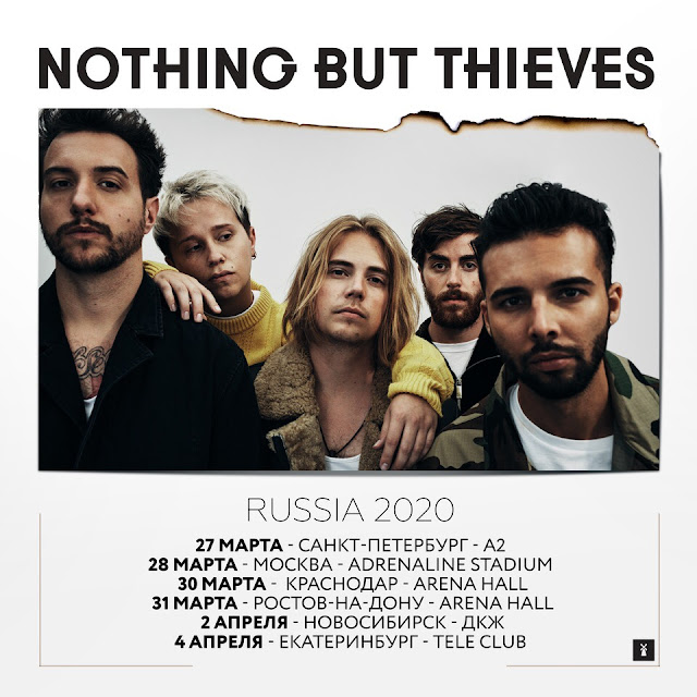 Nothing But Thieves в России