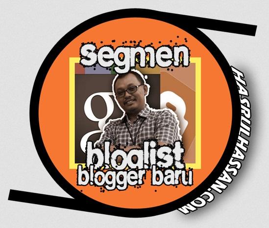 Segmen Bloglist Blogger Baru 1437H