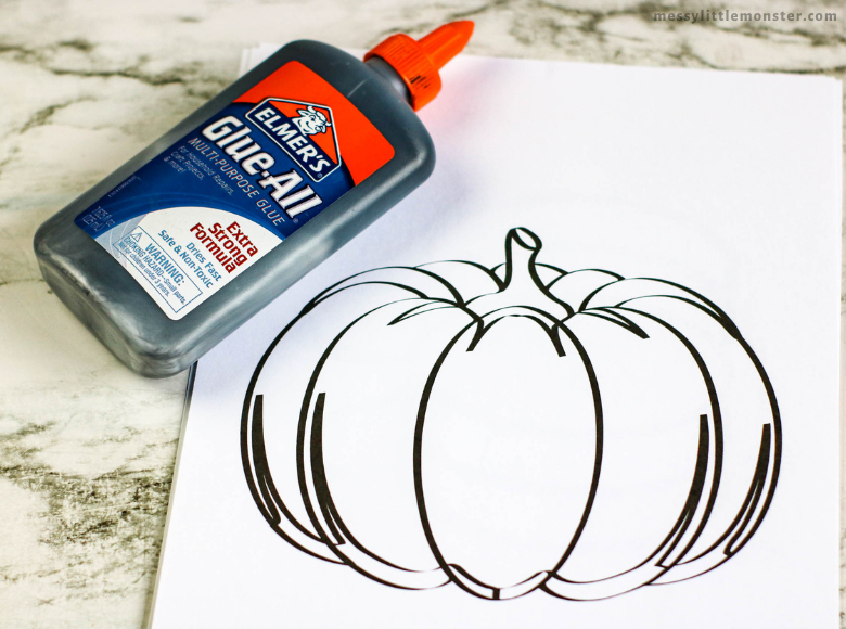 pumpkin printable template