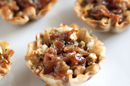 Mini Sweet + Savory Phyllo Cup Appetizers #healthyfood #dietketo #breakfast #food