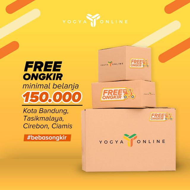 #Yogya - #Promo Gratis Ongkir di Yogya Online Min Belanja 150K