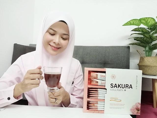 Tidak Mahu Nampak Tua Sebelum Usia, Amalkan Minuman Kolagen Sakura Collagen+ Untuk Kekal Cantik Dan Awet Muda
