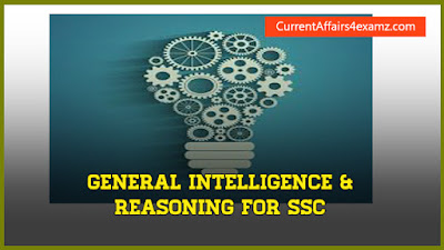 Reasoning Questions SSC CGL 2016