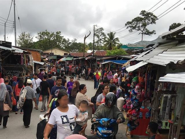 Pasar Serikin Tempat Dan Aktiviti Menarik di Kuching