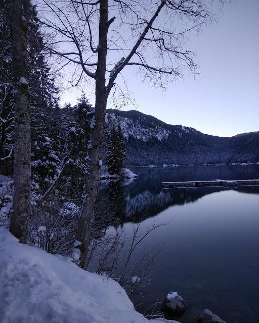 Lago Eibsee Baviera