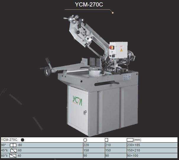 hình ảnh máy cưa vòng ycm 270c