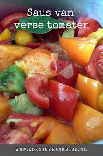 Zelf tomatensaus maken van verse tomaten