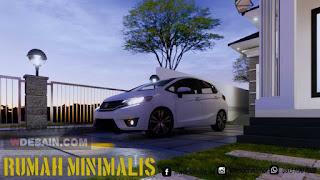 contoh carport rumah minimalis