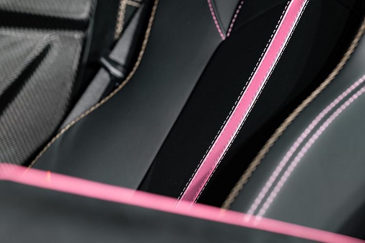 Siêu xe Lamborghini Aventador SVJ 63 'màu hường' độc nhất thế giới