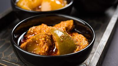 Dried Mango Pickle Recipe in hindi