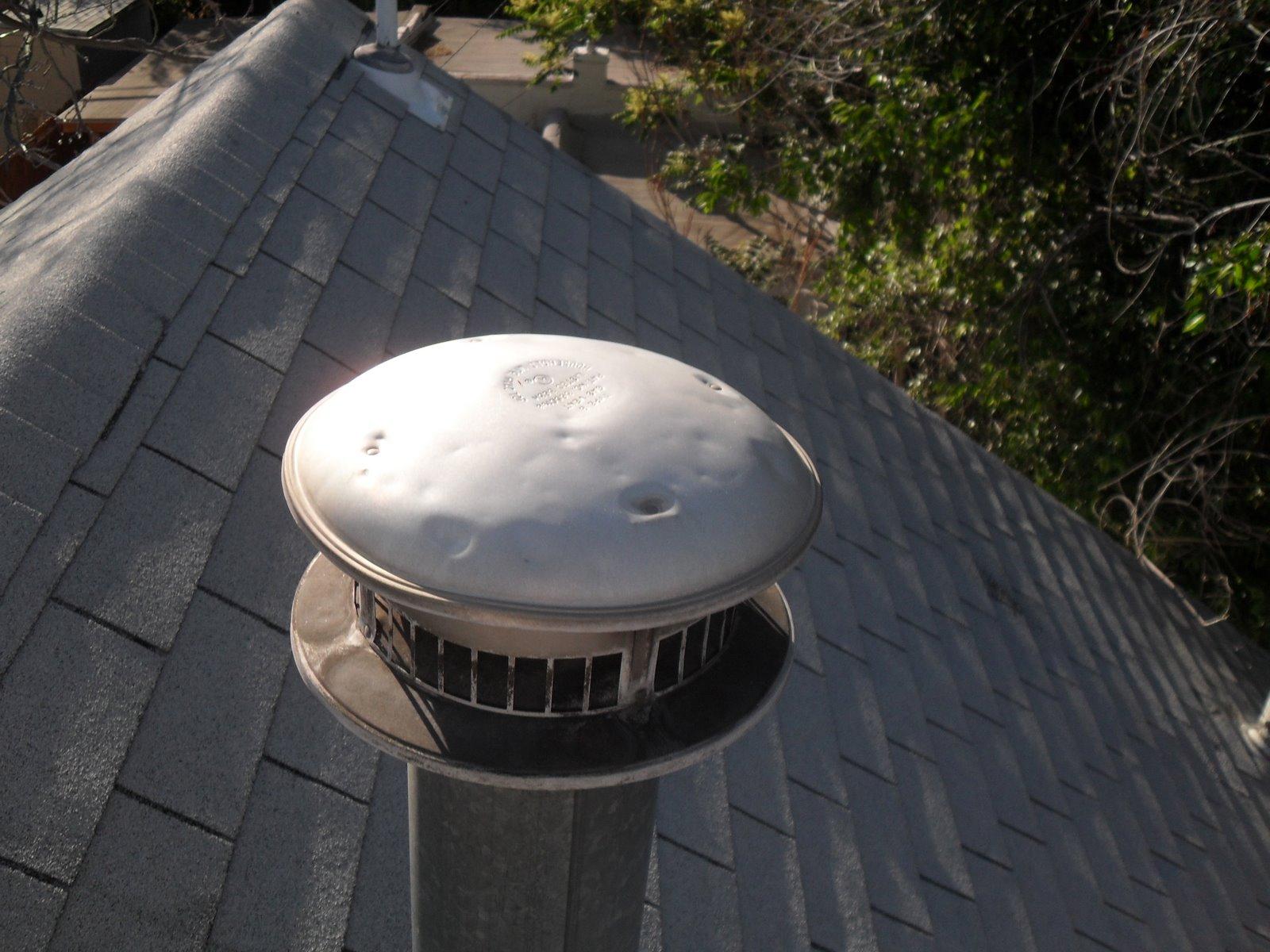 Gas Heater Roof Vent Cap