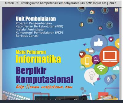 Download Contoh Materi PKP Guru Terlengkap || Matpel Guru