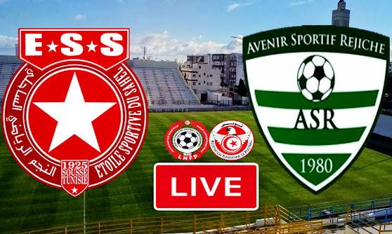 Ligue 1 Tunisie Match Etoile Du Sahel vs Avenir Sportif  Rejiche Live Stream