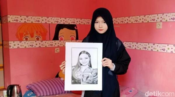 Uang Bantuan Presiden Habis, Begini Nasib Febby Si Gadis Pelukis yang Sempat Viral