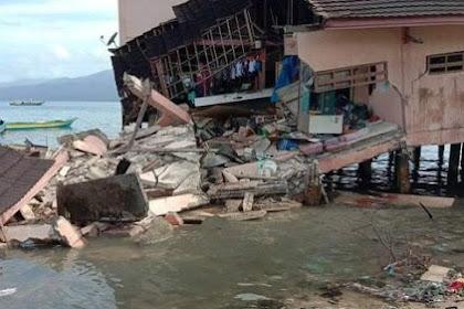Dampak Gempa Magnitudo 6,8 Di Ambon, Merusak Bangunan Kampus, Mal, Perkantoran dan Jalan Umum