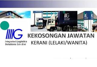 Integrate Logistic Kerja Kosong