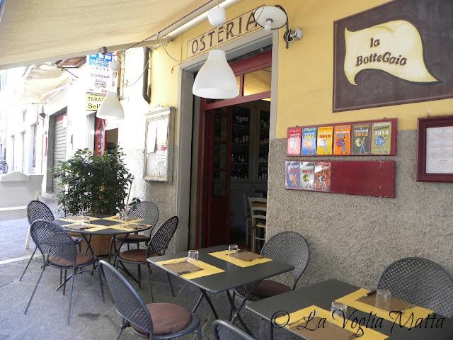"""Osteria """"La BotteGaia"""" a Pistoia"""