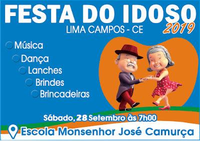 TRADICIONAL FESTA DO IDOSO EM LIMA CAMPOS