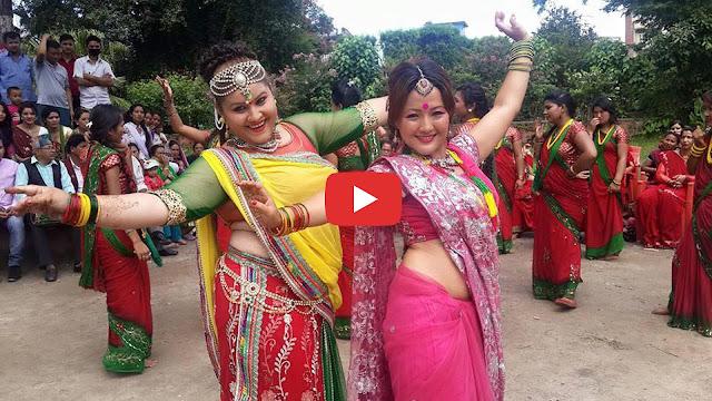 Parbati Rai New Teej Hot Dance