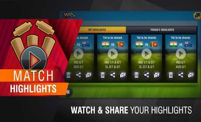 World Cricket Championship 2 Mod Apk Unlocked all