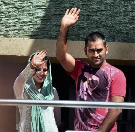 Mahendra Singh Dhoni And Sakshi Rawat's Love And Wedding Story