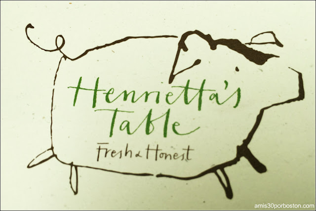 Dine Out Boston Agosto 2016: Henrietta's Table