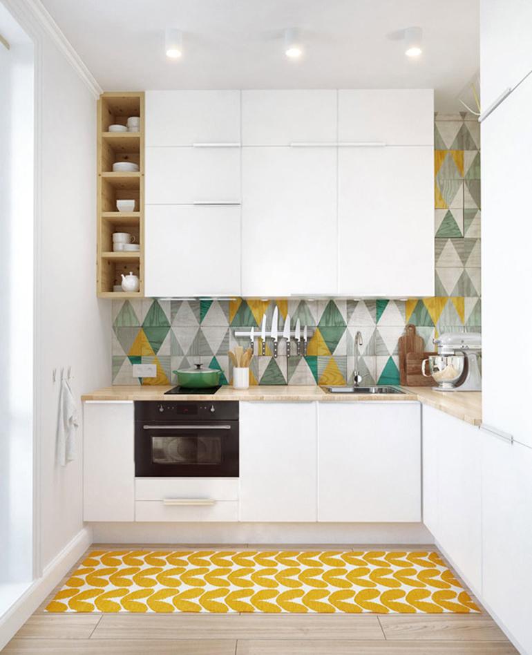 cocina azulejos colores