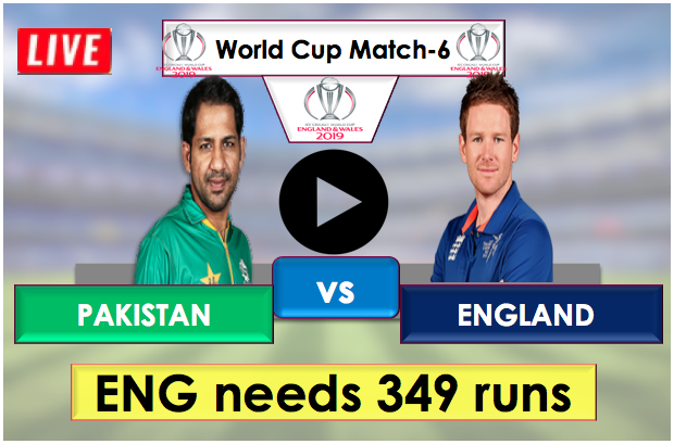 Pakistan vs England, Live Streaming Online, England needs 349 runs to win