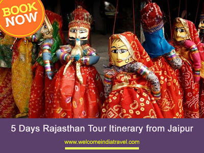 5 Days Rajasthan Tour Itinerary from Jaipur
