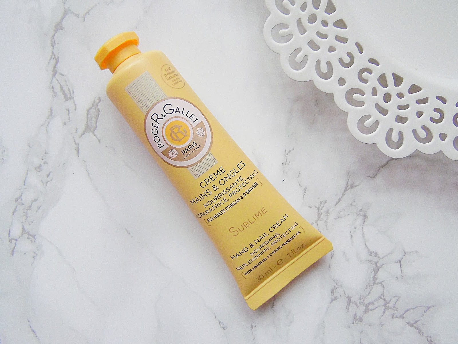 Roger & Gallet Hand & Nail Cream Sublime