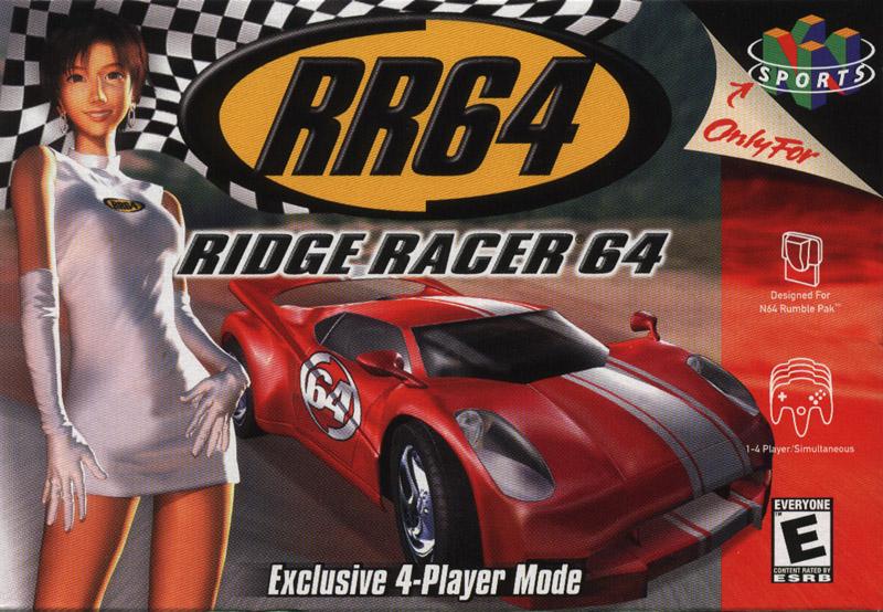 Ridge Racer nintendo 64-PC