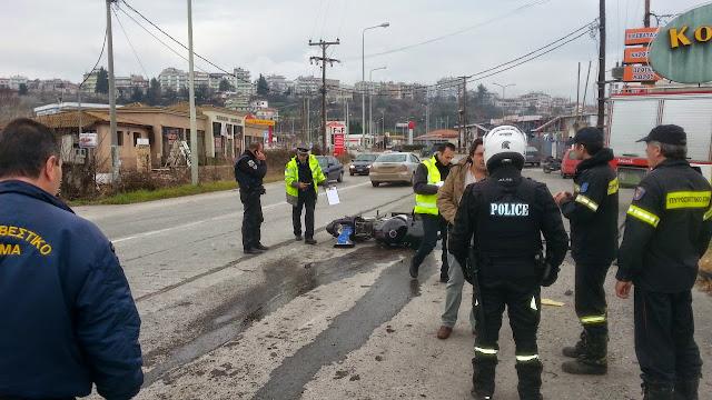 Γιάννενα: Σοβαρό τροχαίο κοντά στα Praktiker Ιωαννίνων