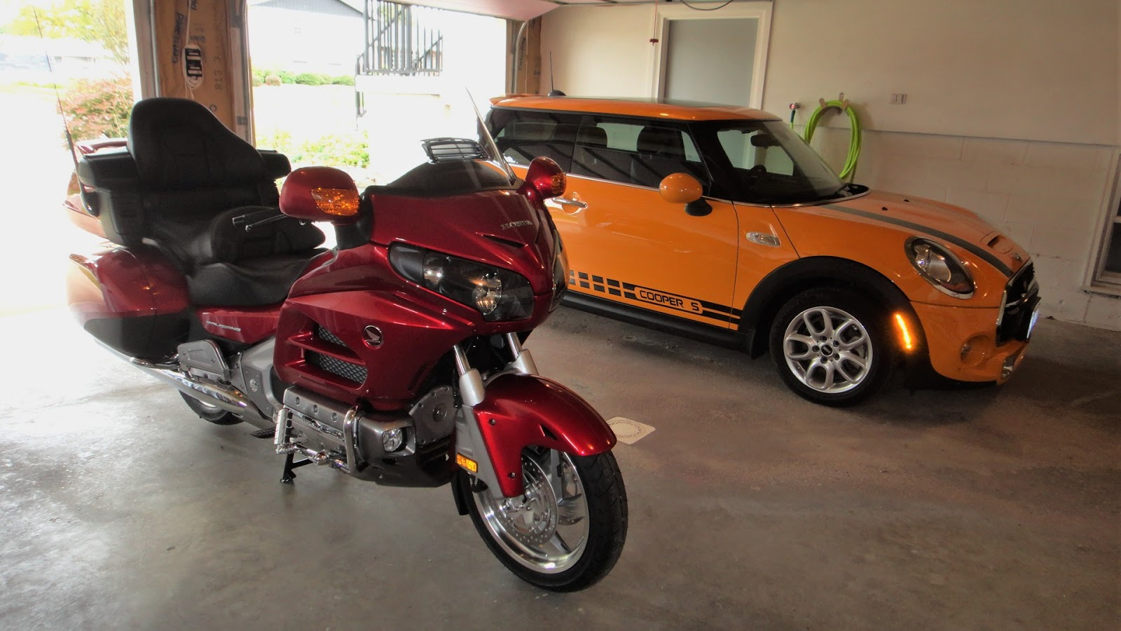 medium resolution of here is my latest addition to my garage a pretty terrific pair of vehicles to say the least but to the point of this post is the gps that i have been
