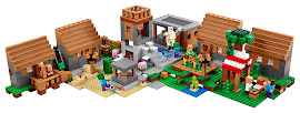Minecraft The Village Lego Set
