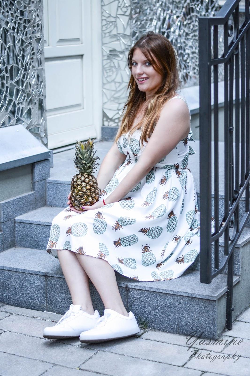 czy warto kupowac na stronach chińskich sklepów zaful sammydress dresslink sukienka w ananasy chińskie sklepy internetowe jakość pineapple dress fashion style melodylaniella yasmine photography f