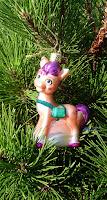 Vondels My Little Pony Sunny Starscout Christmas Ornament