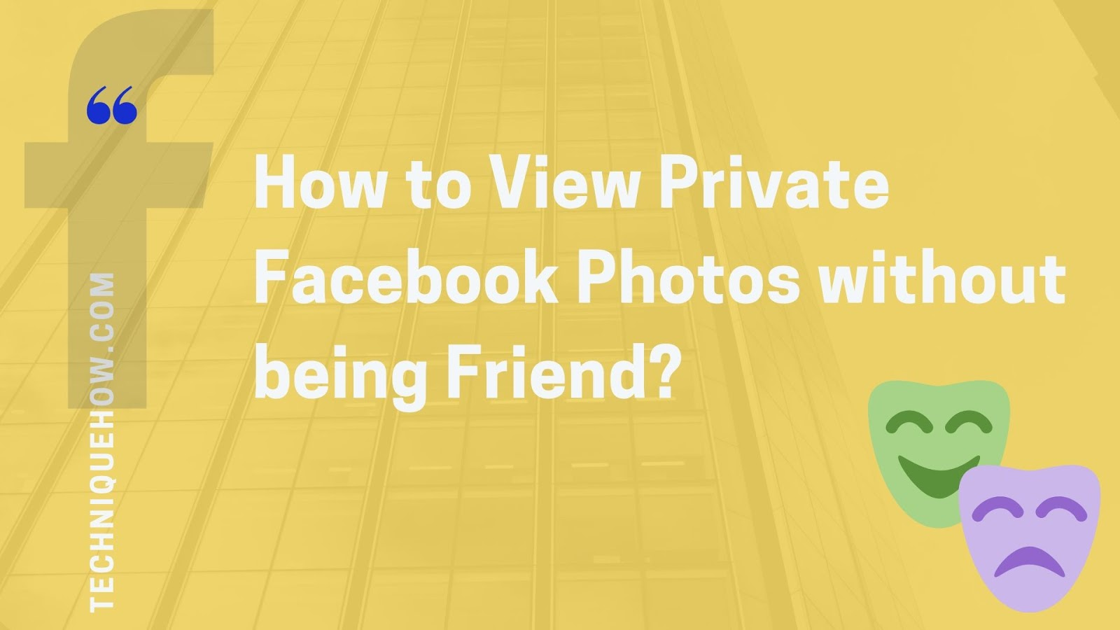 View Private Facebook Photos of profiles