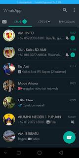 Cara Mengaktifkan Fitur Whatsapp Dark Mode Android